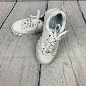 Sketchers Vintage Chunky Platform Sneakers Sz 8 !